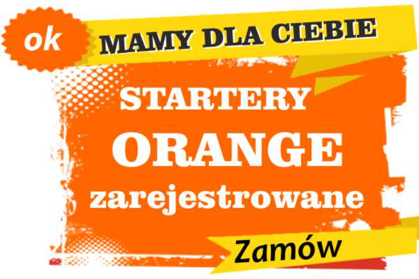Sprzedam zarejestrowane karty sim orange Żywiec  zadzwoń 887 332 665