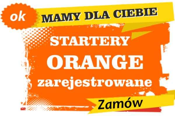 Sprzedam zarejestrowane karty sim orange Janów Lubelski  zadzwoń 887 332 665
